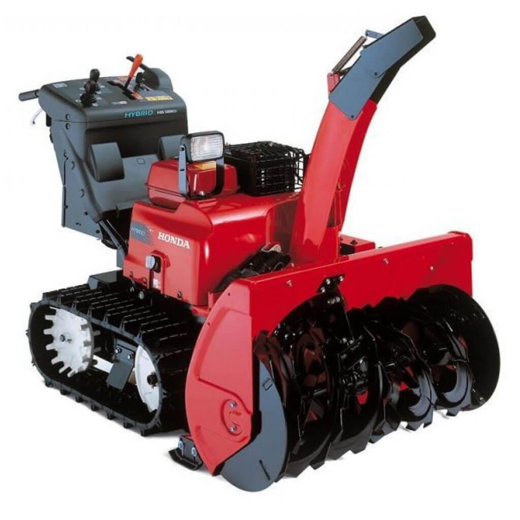 HSM1390I2ETDR. Снегоуборщик бензиновый гибридный HSM 1390 IKZE
