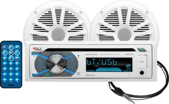 MCK508WB.6. Магнитола CD USB SD, MP3, WMA, FM AM, динамики, антенна