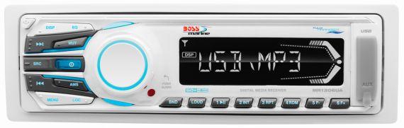 MR1306UA. Магнитола MP3 (USB) белая MR1306UA