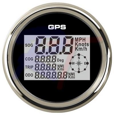 RTD-85SPB-GPS. Спидометр GPS, черный.