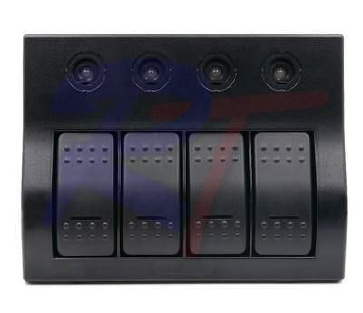 RTJ-10170-BK. Панель выключателей, черная.