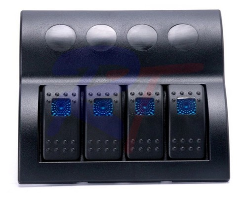 RTJ-10174-BK. Панель выключателей, черная.