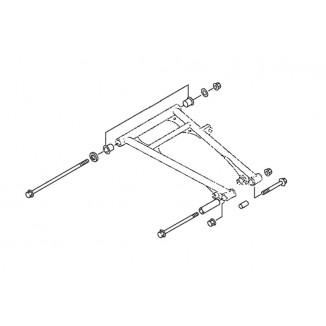 SM-08228. Комплект втулок для нижних рычагов (SM-08668, SM-08669) Yamaha SM-08228