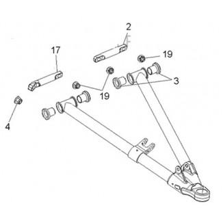 SM-08603. Комплект втулок для нижних рычагов (SM-08682, SM-08683) Polaris SM-08603