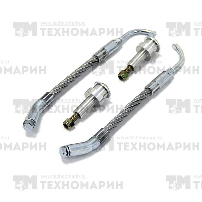 SM-12489K-1. Скребки для охлаждения склизов с адаптерами (25 мм)  SM-12489K-1