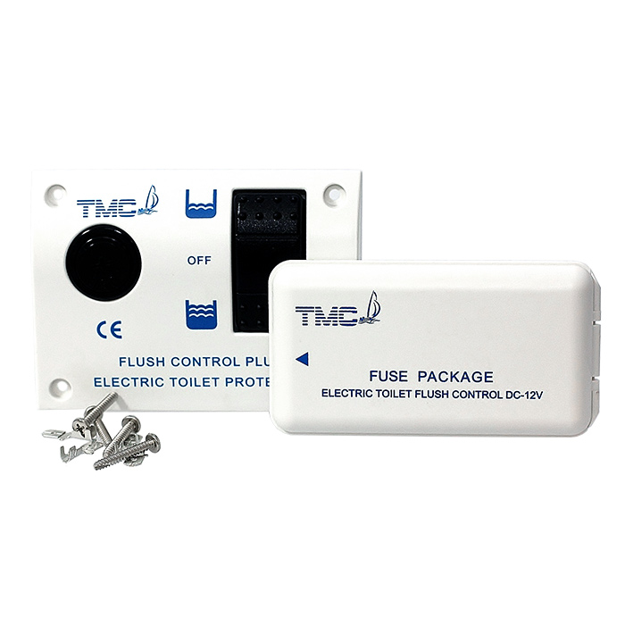 TMC-0240401_24. Панель управления электрическим унитазом с блоком предохранителей 24В