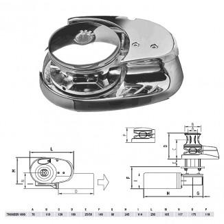 TX_1012_08L. Лебедка якорная THUNDER LUX без барабана, 1000Вт, 12В, цепь 8мм
