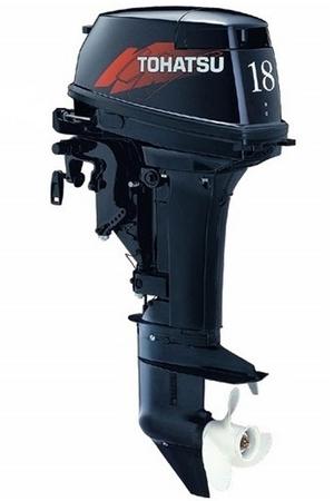 Tohatsu M 18E2 EPS. Лодочный мотор Tohatsu M 18E2 EPS