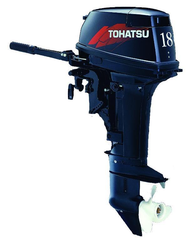 Tohatsu M 18E2 S. Лодочный мотор Tohatsu M 18E2 S