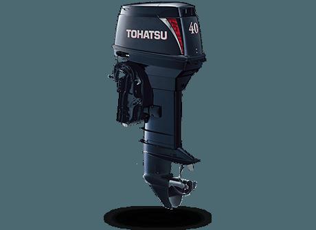 Tohatsu M 40D2 EPOS. Лодочный мотор Tohatsu M 40D2