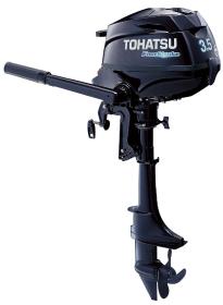 Tohatsu MFS 3.5B S. Лодочный мотор Tohatsu MFS 3.5B S