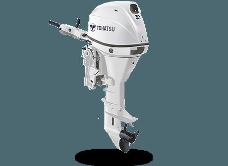 Tohatsu MFS 30CW EPTL. Лодочный мотор Tohatsu MFS 30CW EPTL (белый)