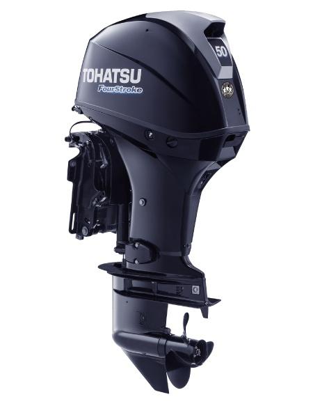 Tohatsu MFS 50A ETS. Лодочный мотор Tohatsu MFS 50A ETS