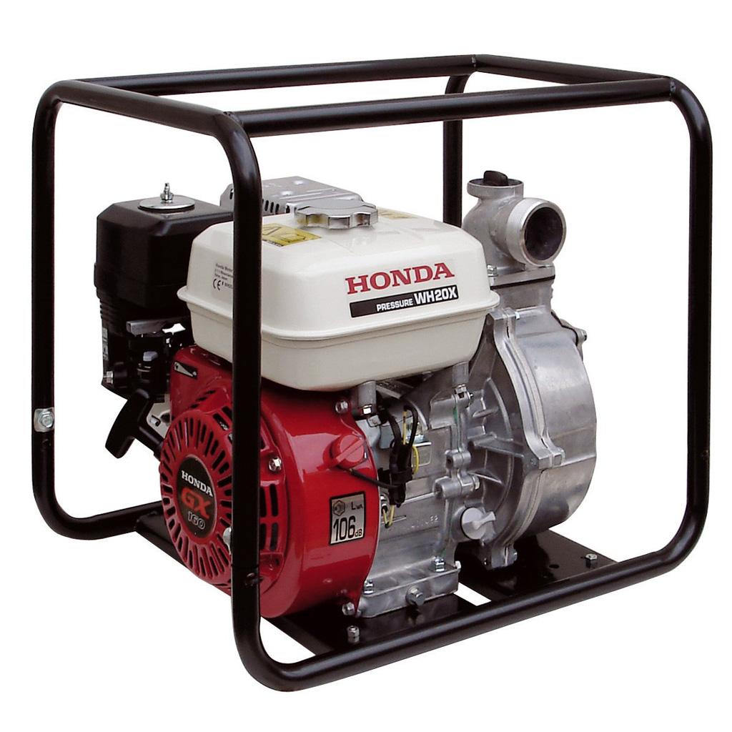 WH20XTEFX. Мотопомпа бензиновая Honda WH 20 XT