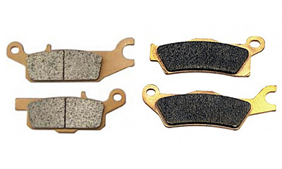 Тормозные колодки BRONCO (полуметаллические)
