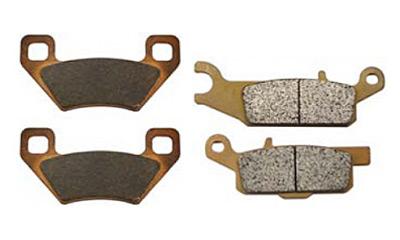 Тормозные колодки BRONCO (металлические)