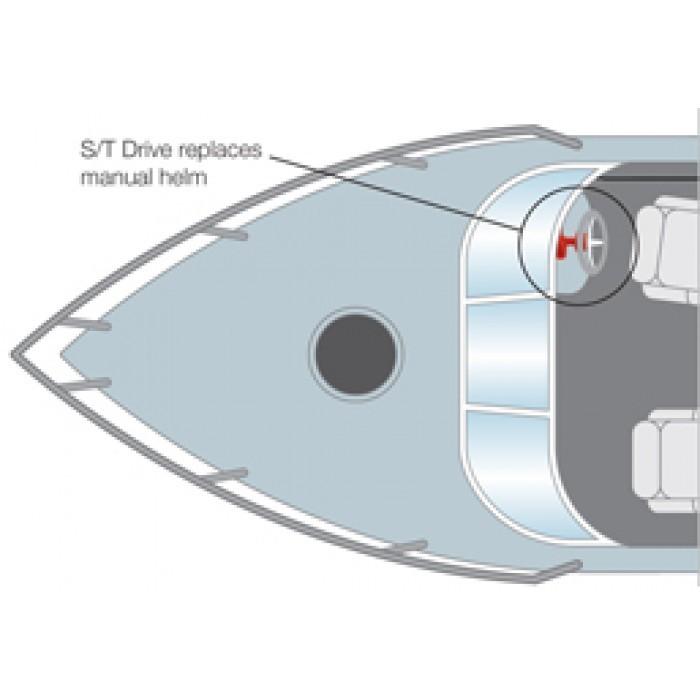 РЭП S. Редуктор рулевой с электроприводом тип S
