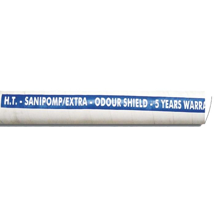 tgmsl191_19. Шланг SANIPOMP/EXTRA 19мм, для сточных вод, арм-е металлической пружиной