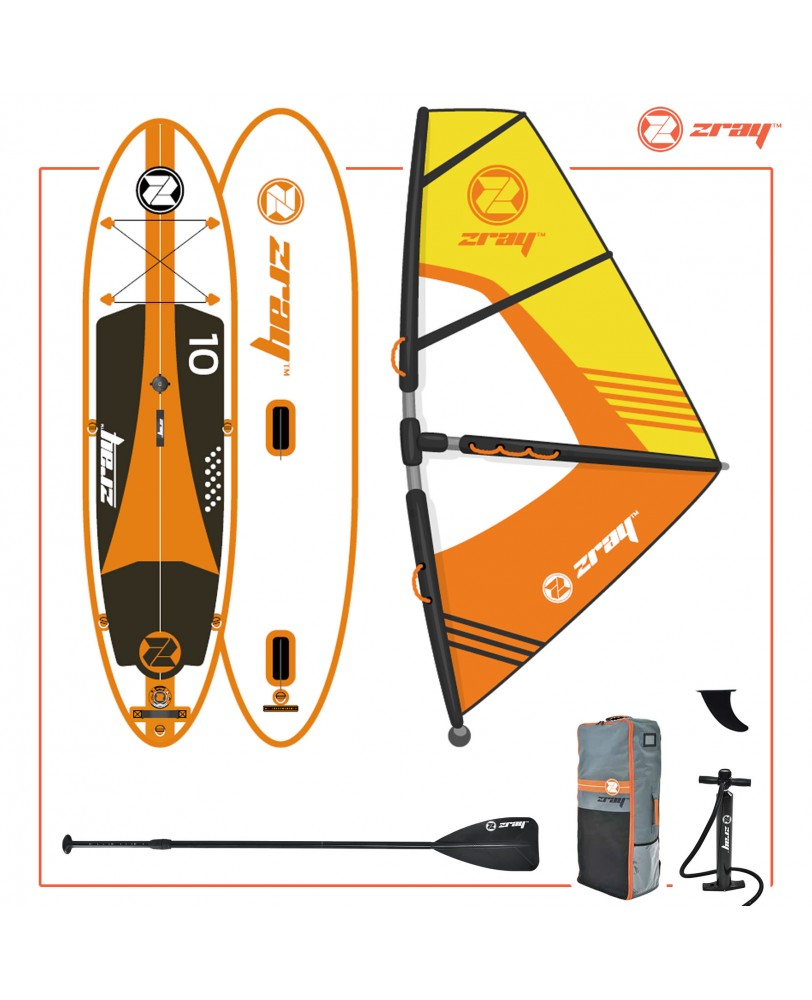 ZRAY SUP BOARD model W2. Надувная доска для sup-бординга ZRAY SUP BOARD model  W2